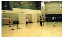 A sports hall